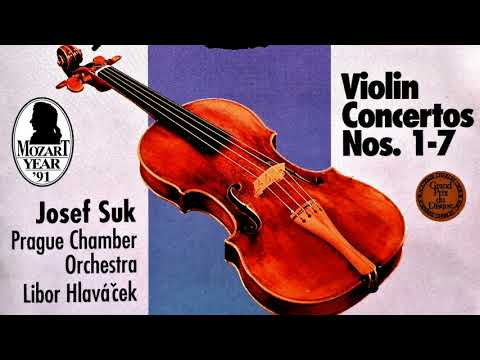 Mozart - The Violin Concertos n°1,2,3,4,5,6,7 (recording of