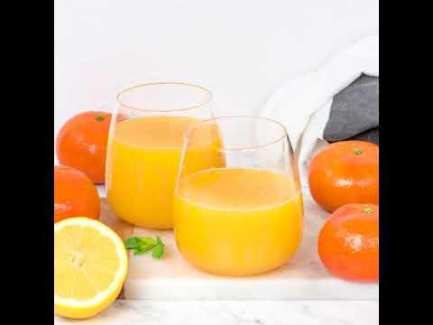 Pełna szklanka zdrowia cytrusowo - ananasowego