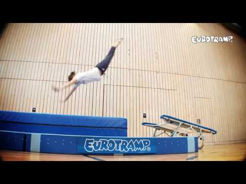 Video: Mini-trampoline open-end Eurotramp® « Standard »