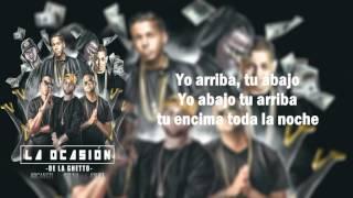 la ocasion de la ghetto ft arcangel ozuna y anuel aa letra video lyric new 2016
