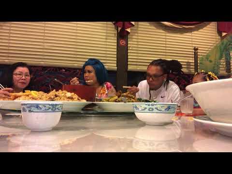 Golden Gates Chinese restaurant lovely Mimi mukbang (Vietnamese speakers)