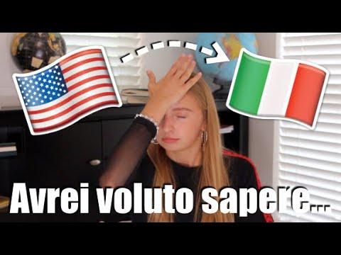 6 COSE CHE AVREI VOLUTO SAPERE PRIMA DI ANDARE IN ITALIA 🇺🇸 🇮🇹
