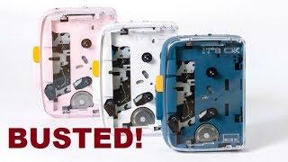 """""""World's first Bluetooth cassette player"""" Kickstarter BUSTED!"""