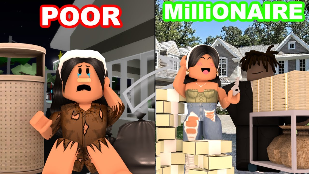 Poor To Rich CEO !! Roblox BROOKHAVEN VOICE OVER Story