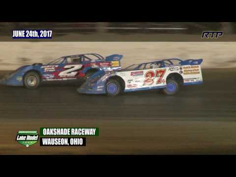 2017 American Ethanol Late Model Tour At Oakshade Raceway (HIGHLIGHTS)