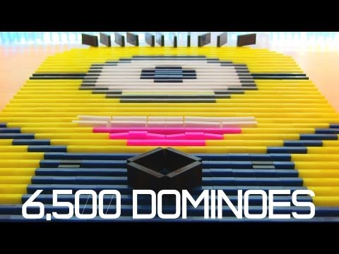 Thumbnail: 6,500 Dominoes - Despicable Me Minion?!