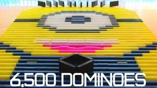 6,500 Dominoes - Despicable Me Minion?! thumbnail