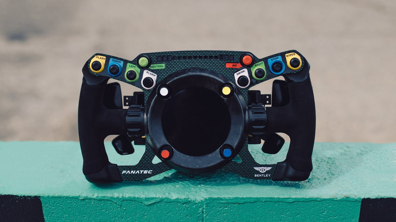 Fanatec's Steering Wheel Can Be Used For Racing Sims and An Actual Racecar