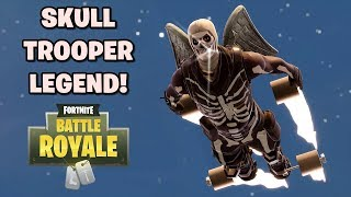 SKIN SKULL TROOPER LEGEND! - Fortnite: Battle Royale (w/ Apip, Egi, KhoPet)