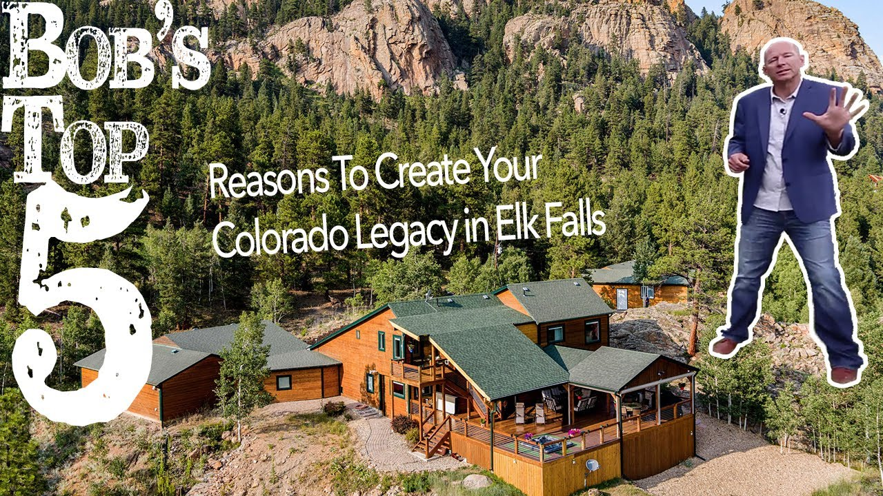 Your Colorado Legacy Can Be This Incredible Estate Property Backing Staunton State Park in Pine