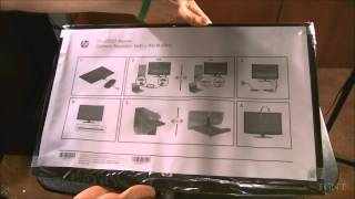 HP 20-inch LED Monitor Unboxing