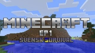 Let´s play: Minecraft S2 EP: 1 (Swedish)