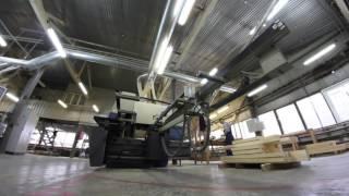 видео Производство и изготовление  деревянных окон