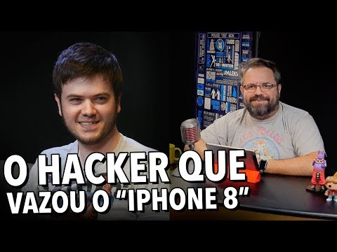 "O HACKER QUE VAZOU O ""IPHONE 8""!"