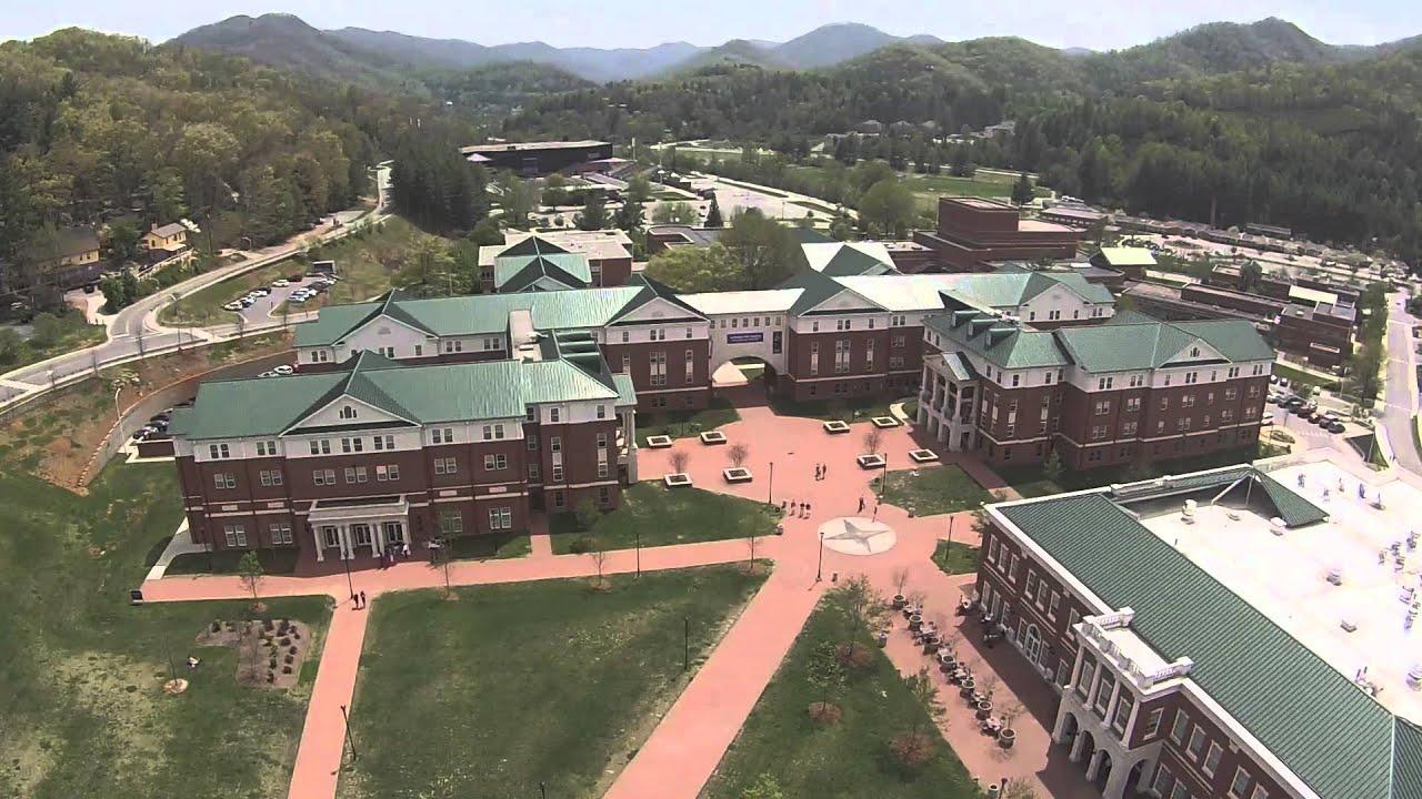 Western Carolina University Aerial Video - YouTube
