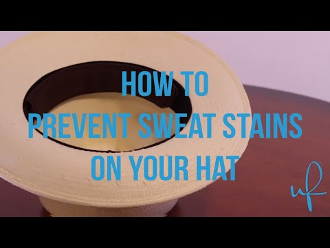 How to Prevent Sweat Stains on your Hat