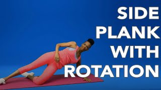 Workout with BH Fit | Side Plank with Rotation