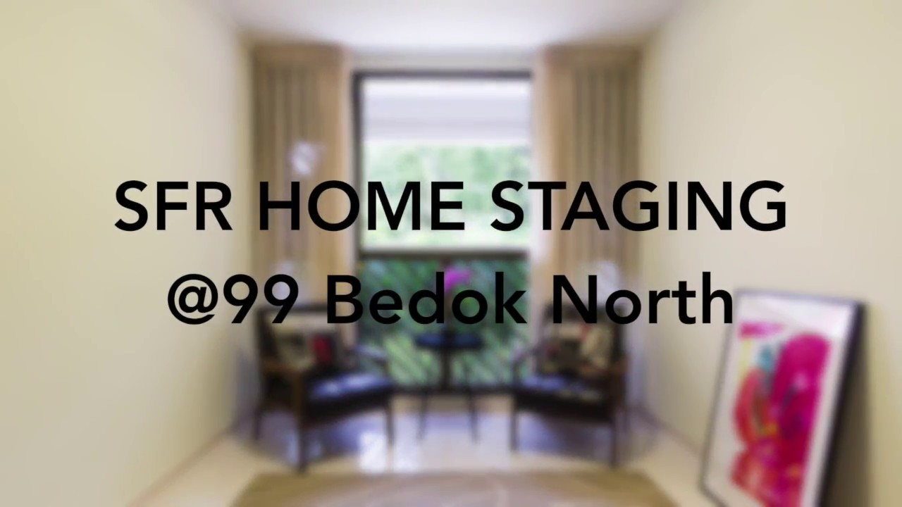 Home Staging Project   99 Bedok North   Singapore Furniture Rental