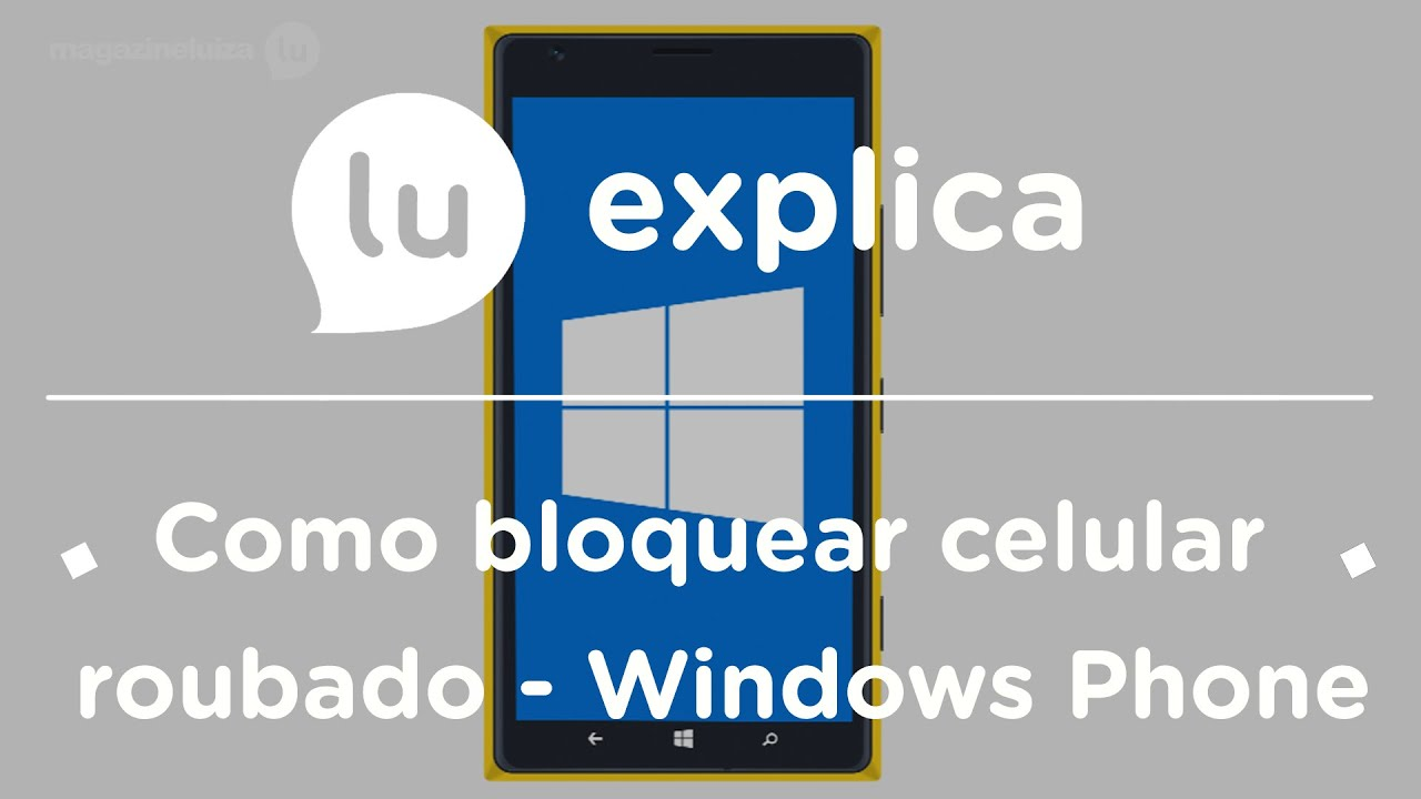 Localizar celular perdido windows phone