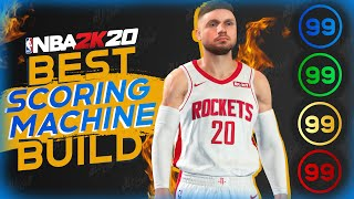 How to Make an Unstoppable Scoring Machine Build in NBA 2K20