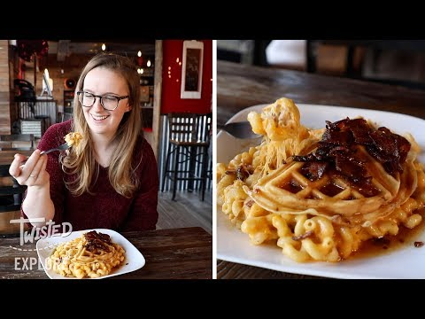 We Tried Mac And Cheese Waffles | Episode 28 | Twisted Explore