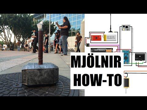 How to Make Thors Hammer - Mjolnir