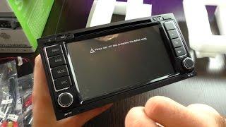 видео Штатная магнитола FarCar для Volkswagen, Skoda на Android (R016)