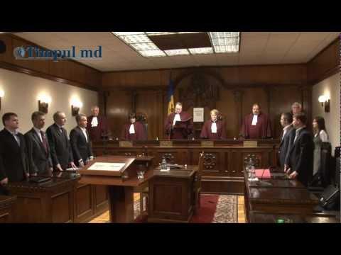Curtea Constituţională a validat alegerile preşedintelui R. Moldova