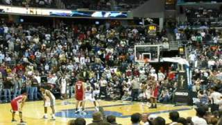 lebron james called for late travel wizards vs cavs jan 4 2009