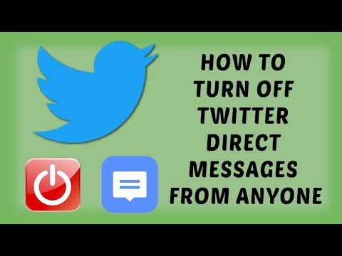 How To Turn off Twitter Direct Messages From Anyone   Easy Tutorials In Hindi