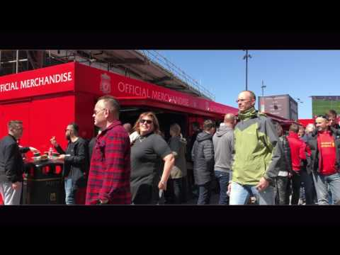 Liverpool FC use Rapid Retail Units to increase customer interaction