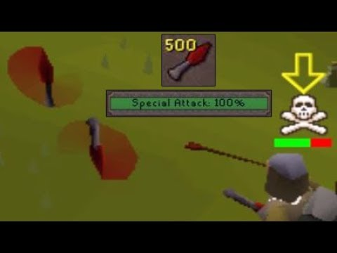 NEW Dragon Knives Low Level OSRS PKing