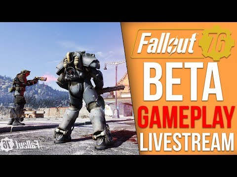 Fallout 76 BETA Playthrough - Part 2 (Fallout 76 Livestream)