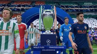 Rapid Wien vs Valencia   UEFA Champions League Finale gegen Burns   FIFA 19 Privat-Karriere #124
