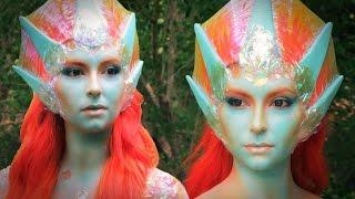 World of Warcraft Naga Inspired Siren Makeup