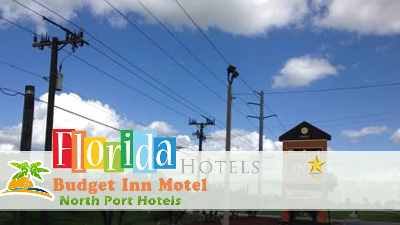 Budget Inn Motel North Port North Port Hotels Florida Youtube
