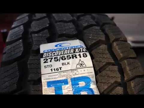 Cooper Discovrer X T4 Tire Review Should I Them
