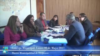 Concejo Municipal Lunes 08 de Mayo 2017