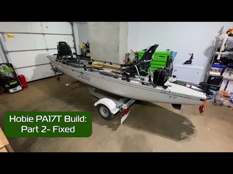 hobie-pro-angler-17t-build-part-2- -parts-and-fixes