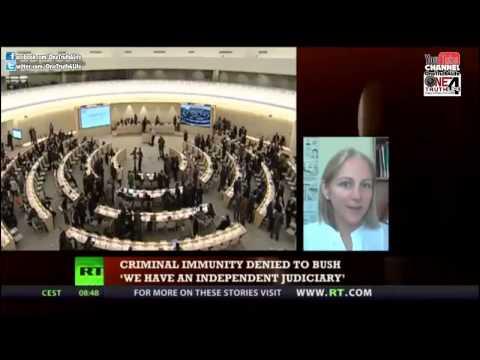War Crimes Tribunal Looking to ARREST Obama & Bush