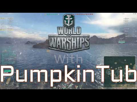 Torp Dodge!!! World of Warships!!! PumpkinTub