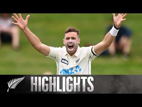 Southee Stars in 15 Wicket Day | BLACKCAPS v West Indies | Day Three 1st Gillette Test