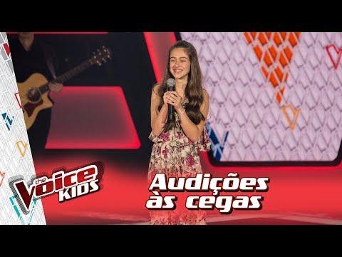 Clara Alves canta 'Não Precisa' na Audição – 'The Voice Kids Brasil' | 3ª Temporada
