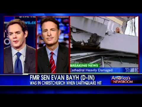 Fmr. Sen. Evan Bayh Describes Christchurch Quake