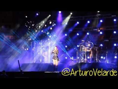 Concierto Yuridia en Mexicali Tour Esencial Plaza de Toros Calafia 31/Mayo/2013