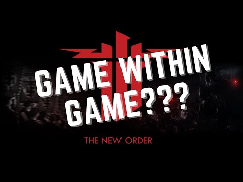 GAME WITHIN GAME??? - Τι είδαμε πάλι?? | WOLFENSTEIN - THE NEW ORDER |