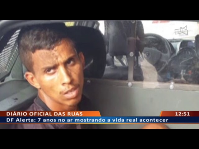 DF ALERTA - Bandidos levam carro sem gasolina após assaltar vigia