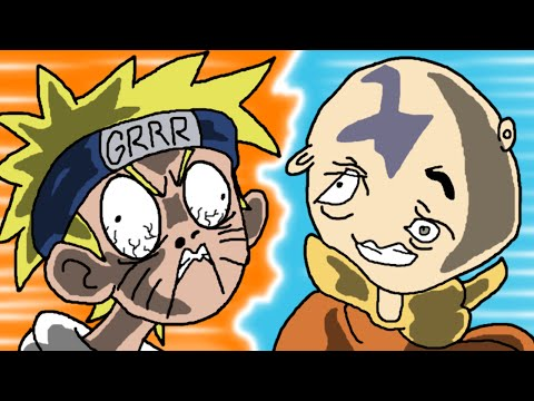 Naruto VS Avatar the Last Airbender