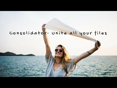 Consolidator - Unite all your files