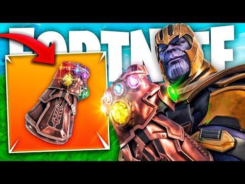 Youtube Avengers Fortnite Jugando Con Thanos En Fortnite Guantelete Del Infinito Thegrefg Youtube